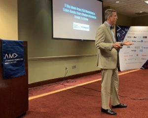Douglas Burdett from The Marketing Book Podcast Speaks to the Birmingham Chapter of The American Marketing Association