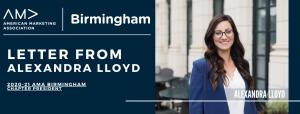 AMA Birmingham, Alexandra Lloyd